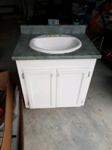 Bathroom vanity, decent condition