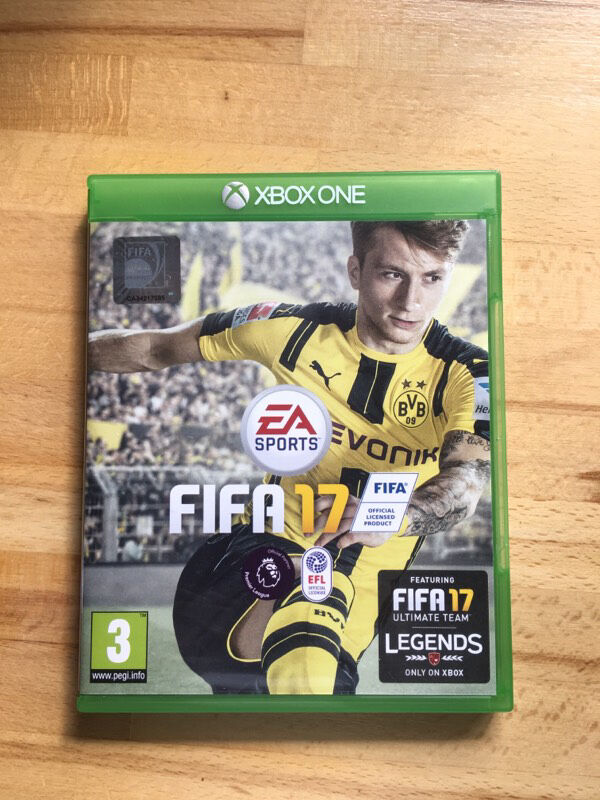 fifa 17 xbox one in swindon wiltshire gumtree. Black Bedroom Furniture Sets. Home Design Ideas