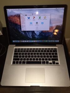 "MacBook Pro 15"" - 1 TB , latest OS X, Office 2013"