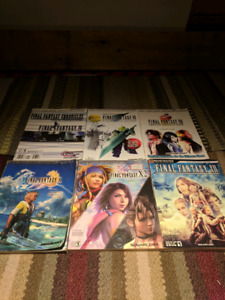 Final fantasy game guides