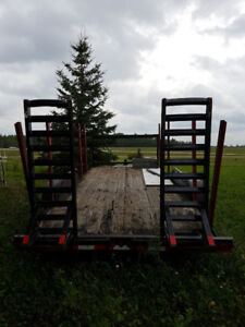 Flat Deck Trailers 16ft and 18ft