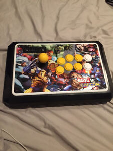 Marvel vs Capcom - TE 2 Fight Stick ( Req Joy Stick  Repair )