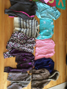 size 5T - 6T/ 7T-8T girl shirts/sweaters ( 45+ items )