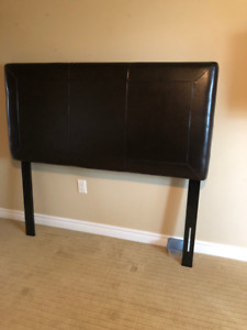 LEATHER HEADBOARD (double bed)