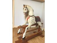 Beautiful hand carved Rocking Horse