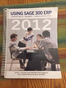 Sage Accounting Textbook - STILL AVAILABLE IF AD IS UP
