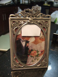 "seagull pewter wedding 4x6"", 8x10"" picture frame,1326"
