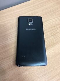 Samsung note 4 black 32gb unlocked