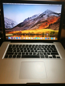15' MacBook pro 2012 with 500GB SSD