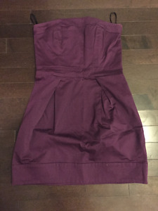 NWOT FCUK spring/summer strapless party dress