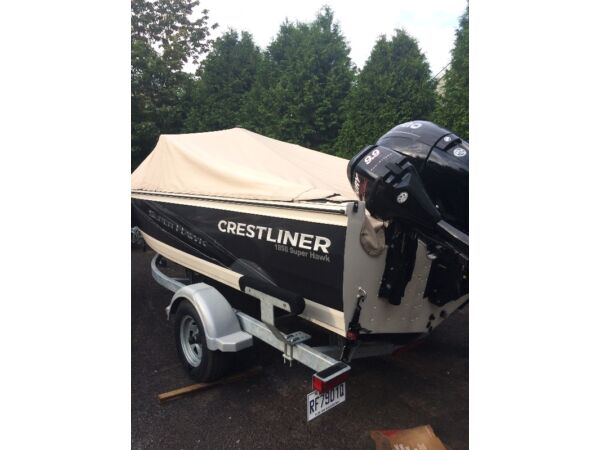 Used 2013 Crestliner 1850 SuperHawk