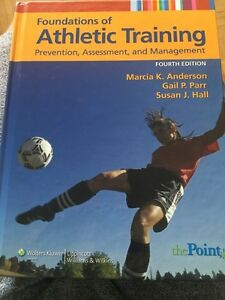 Foundations of Athletic Training textbook