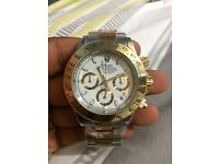 ROLEX DAYTONA WHITE FACED GOLD CHEAP BRAND NEW IPHONE SAMSUNG