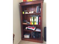 Dark Solid Wood Bookcase