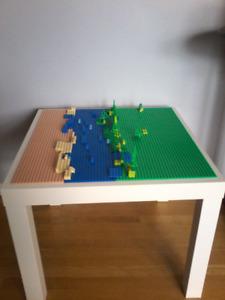 Lego Table     A River Runs Through It