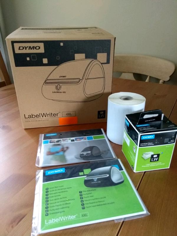 Label printer DYMO LabelWriter 4XL   in Peterlee, County Durham   Gumtree