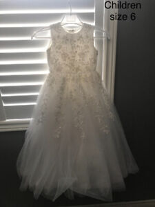 Flower girl or First Holy communion dress size 6