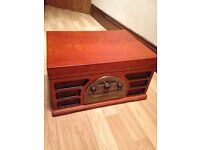Crosley cd radio tape and record player