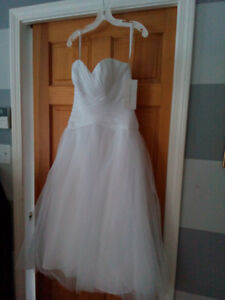 Wedding dress (size 6)  **Practically giving it away**