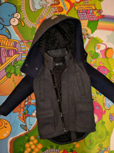 Manteau Mackage pour enfant T4 - Mackage Wool Kids Coat Sz 4