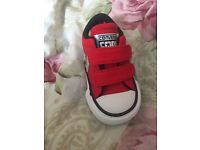 Brand new converse baby size 2