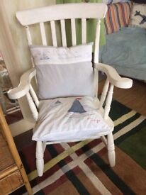 Vintage wooden chair , really comfortable