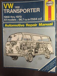 Volkswagon Westfalia, Repair Manual