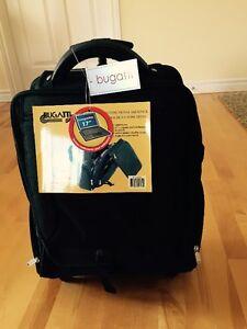PRIX REDUIT!!! 70% OFF!!  NEW Black Bugatti® Travel Bag