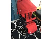 Joie pushchair and raincover