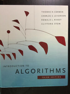 Introduction to Algorithms - No markings or highlights