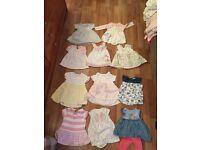 Girls 11 next summer dresses upto 3 months