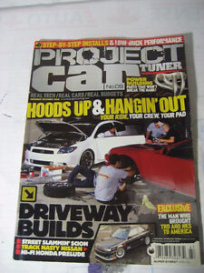 Looking for Project car magazines
