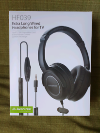 HEADPHONES with LONG CORD