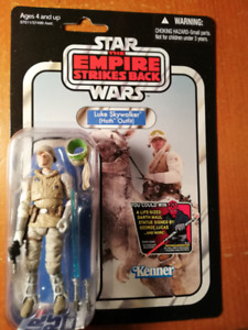 STAR WARS THE VINTAGE COLLECTION figurine VC95 LUKE HOTH OUTFIT