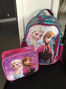 Frozen backpack and lunch kit Strathcona County Edmonton Area image 1