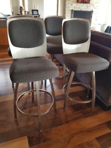 4 counter-height stools for sale