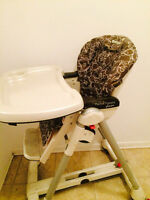 High chair peg perego