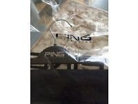 Black Ping Golf Trousers