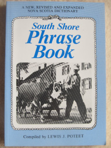 SOUTH SHORE PHRASE BOOK by Lewis J. Poteet 1988