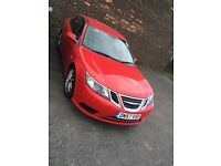 2008 Saab 93 new shape 1.9 tid red alloys 6 speed 150bhp