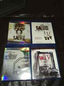 Saw - Partial BluRay HD Collection