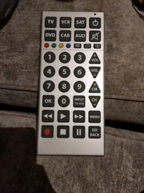 Jumbo multi purpose remote control