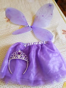 Butterfly costume set with tiara