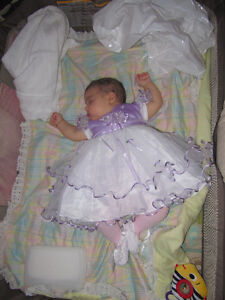 Purple tou-tou dress for Baby Girl 3-6 months & Ballerina Shoes