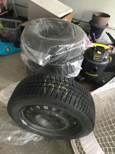 Winter Tires 215/55R 17 Michelin X Ice with Rims