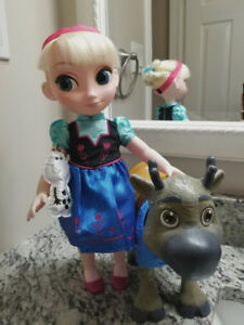 Disney's Frozen Package with Customized Elsa Animator Doll