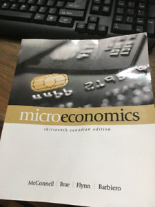 Microeconomics 13th edition by McConnell