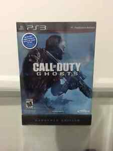 Call of Duty Ghost Hardened Edition PS3 NEUF
