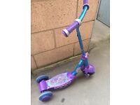Kids girls scooter
