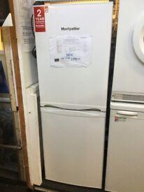 Montpellier white fridge freezer
